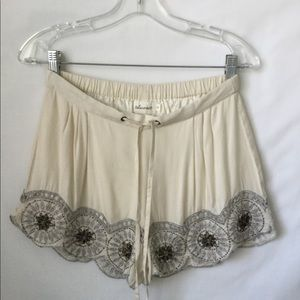 Tularosa Simone Embellished Shorts Drawstring $118